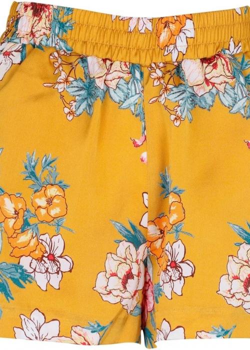 Sam flower shorts YELLOW