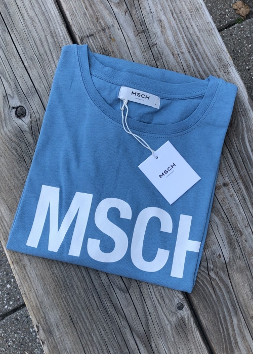 Alva MSCH STD tee P BLUE/WHITE