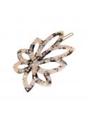 Lule hair pin WHITE LEO