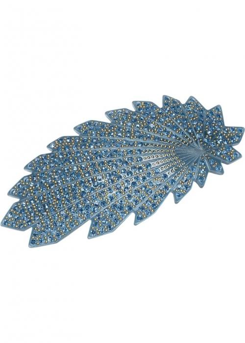 Pico Copenhagen Vifte barrette hair clip DENIM