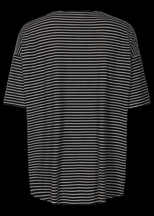 Alma t-shirt BLACK/WHITE