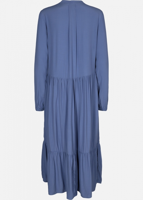 Alvira morocco dress COLONY BLUE