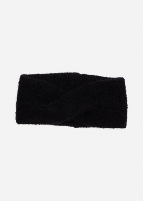 Kikka Mohair Headband BLACK
