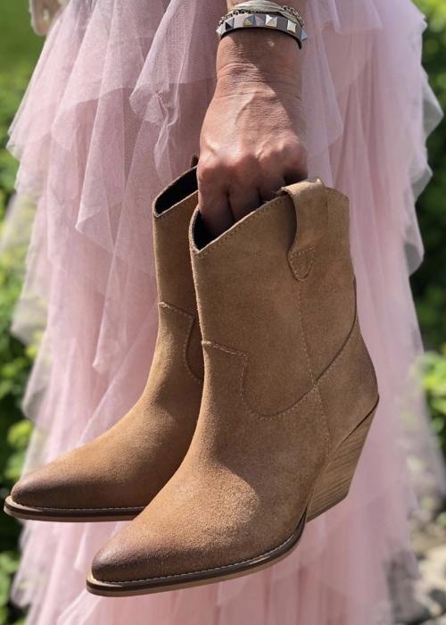 Copenhagen shoes Rosanne BEIGE SUEDE