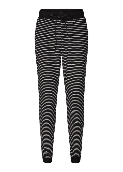 Alma pant BLACK/WHITE