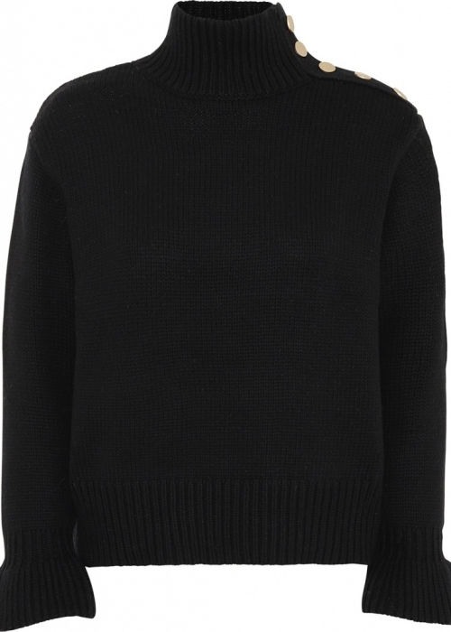 Continue Madeleine knit BLACK