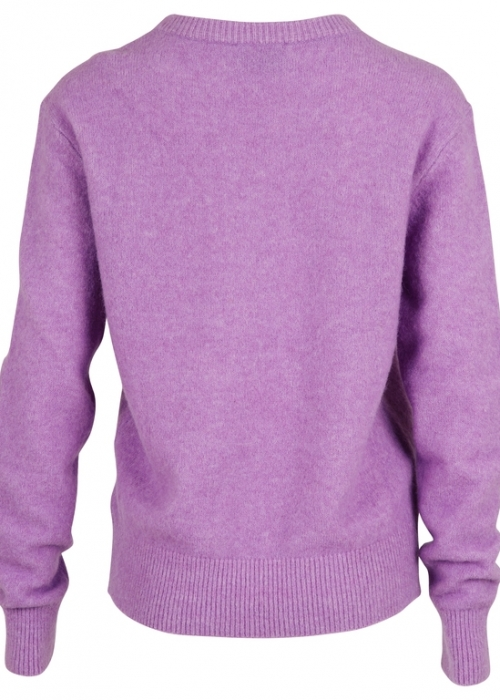 Dina knit PURPLE MELANGE