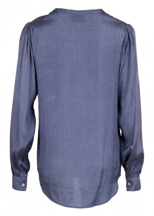 Neo Noir Julie jaquard shirt DUSTY BLUE