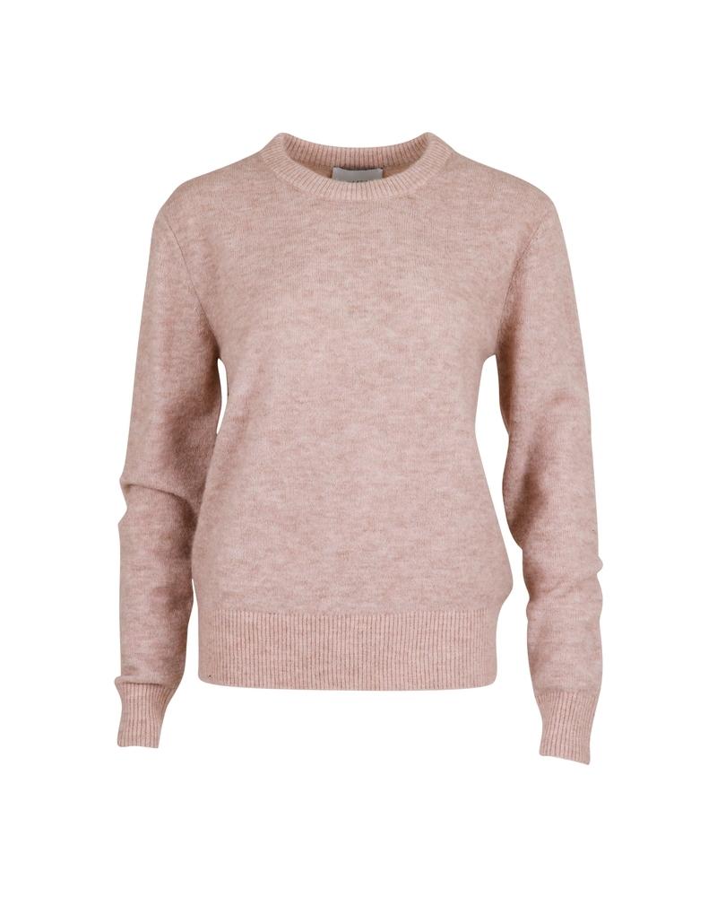 Dina knit POWDER MELANGE