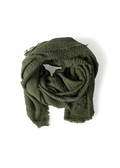 Re:designed Sada scarf ARMY GREEN