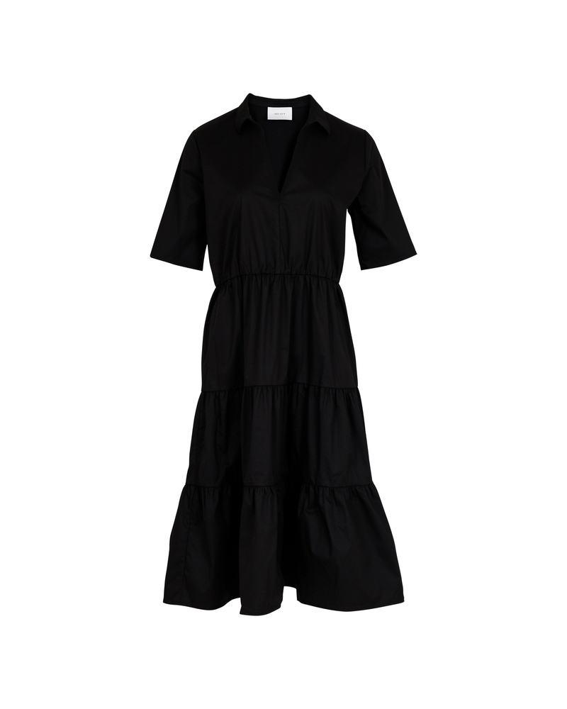 Neo Noir Jinna dress BLACK