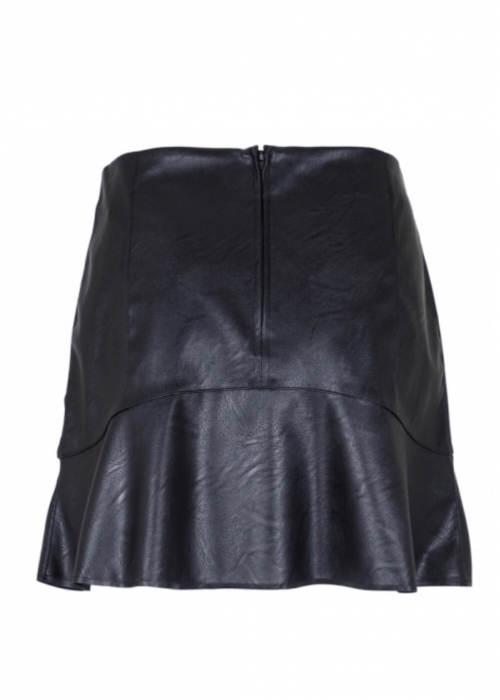 Loui PU skirt BLACK