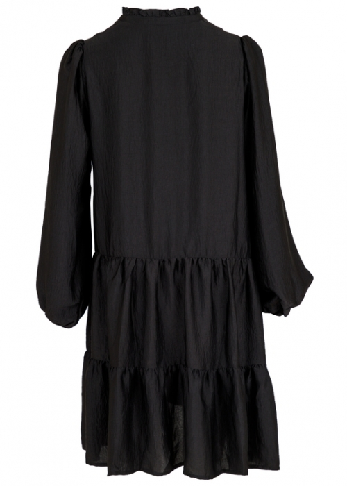 Federica soft dress BLACK