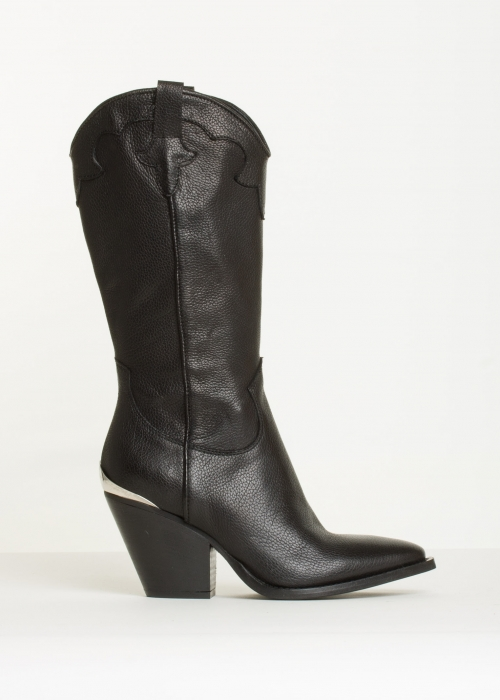 Brooke boot buffalo BLACK