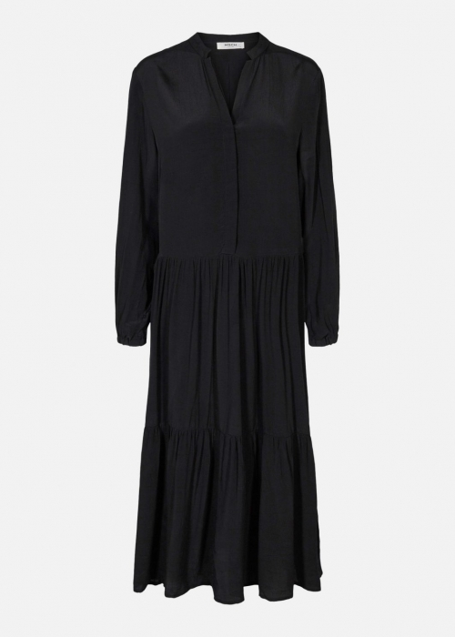 Moss Copenhagen Carol morocco dress BLACK