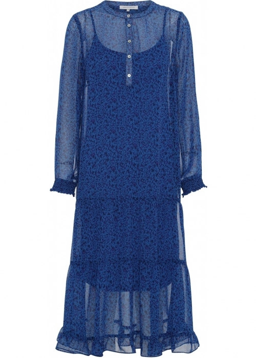Flora dress BLUE/PURPLE