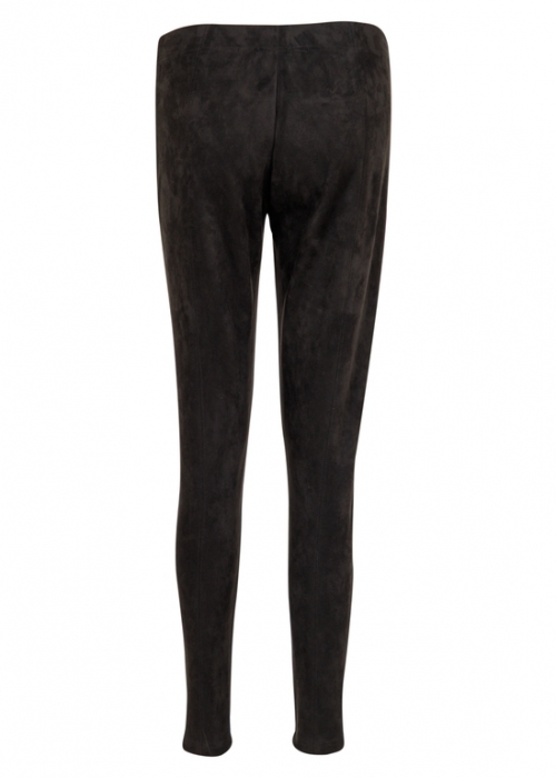 Hulu suede leggings BLACK