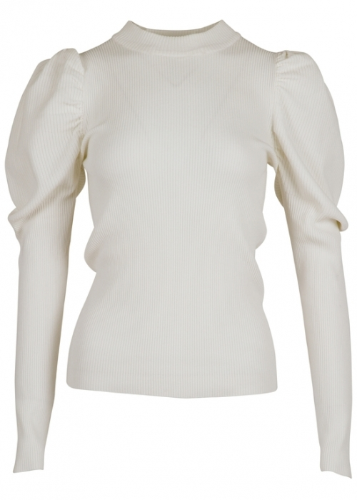 Neo Noir Vince knit blouse OFF WHITE
