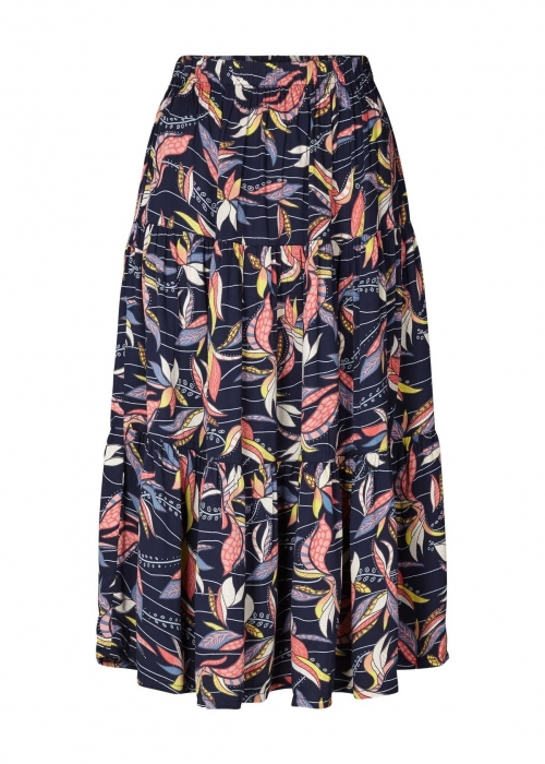 Morning skirt DARK BLUE