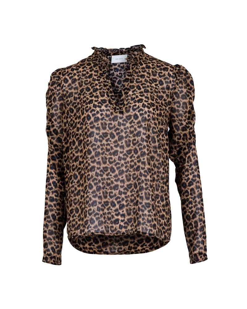 Leslie Leo blouse LEOPARD