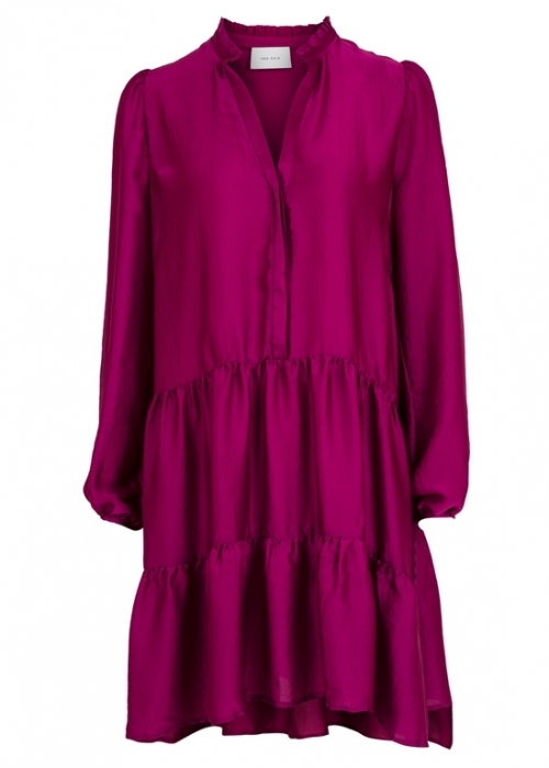 Federica soft dress FUCHSIA