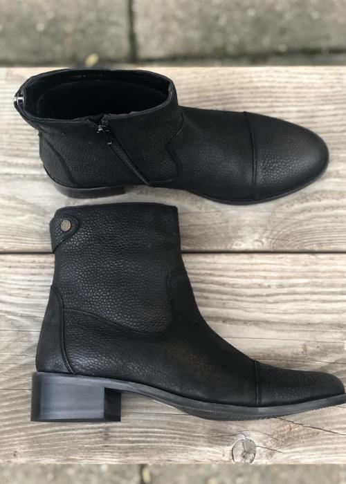 Copenhagen shoes Virgina milled BLACK