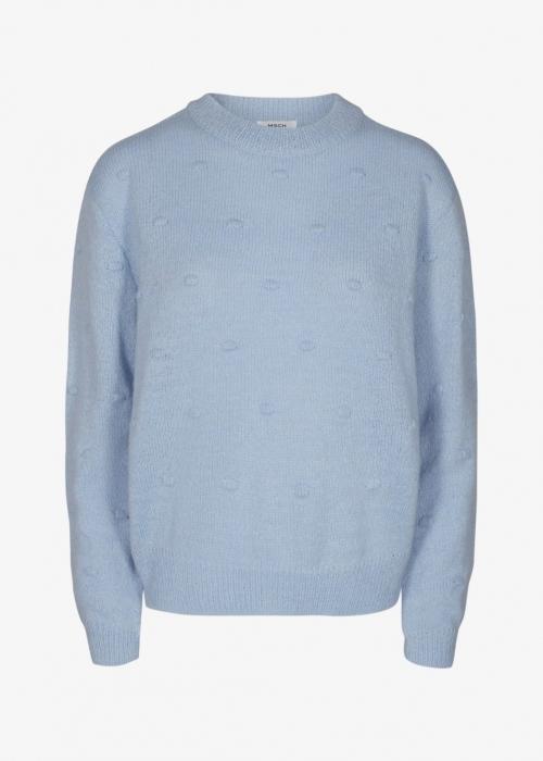 Moss Copenhagen Junea pullover CASHMERE BLUE