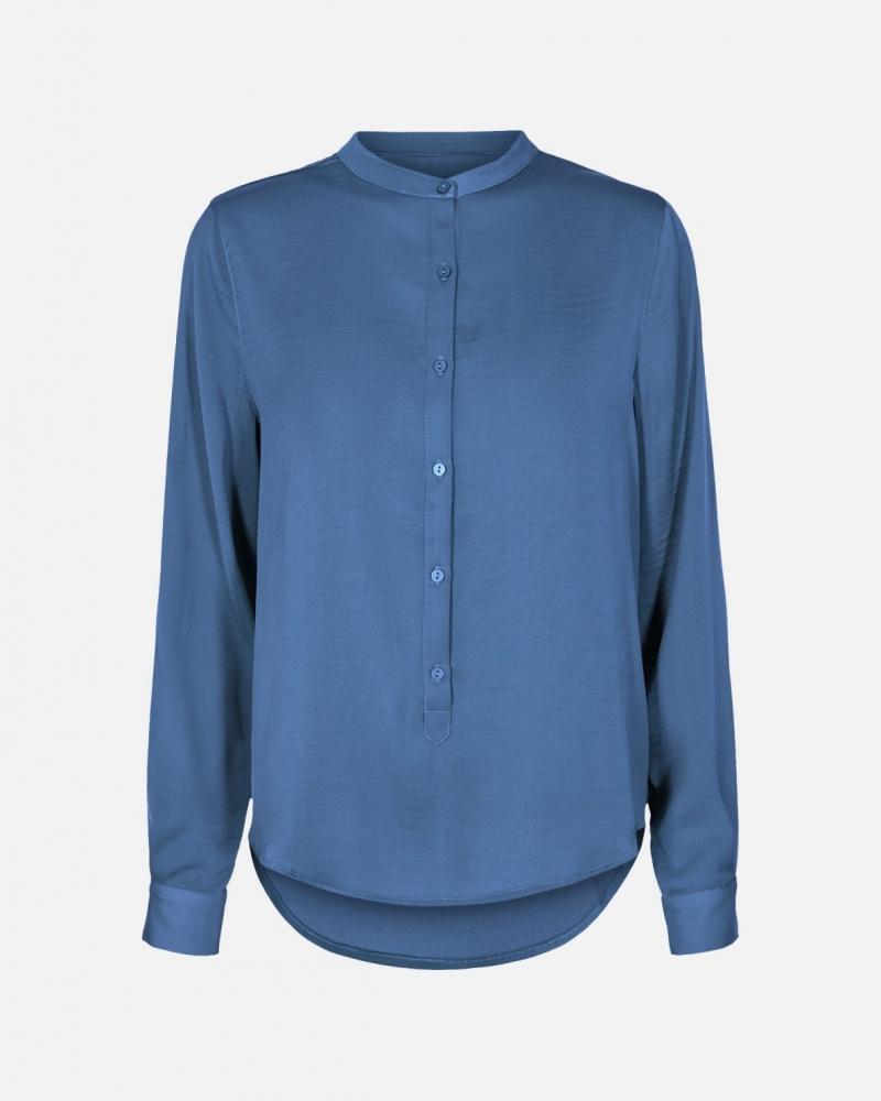 Moss Copenhagen Luella shirt BLUE HORIZON