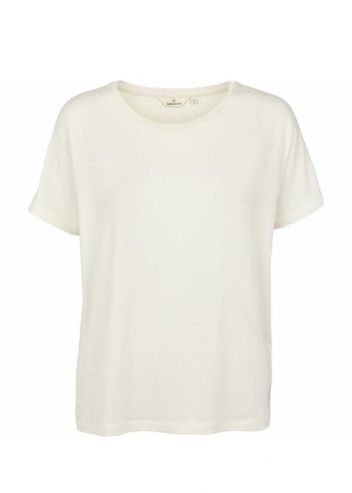 Basic Apparel Joline tee WHISPER WHITE