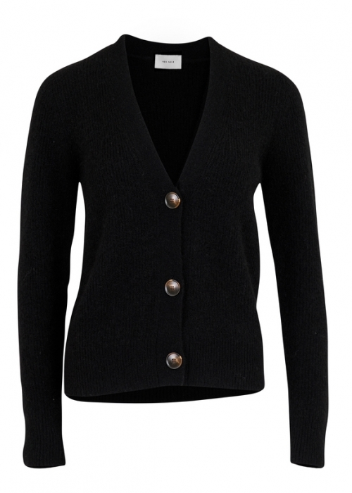 Neo Noir Gran knit cardigan BLACK