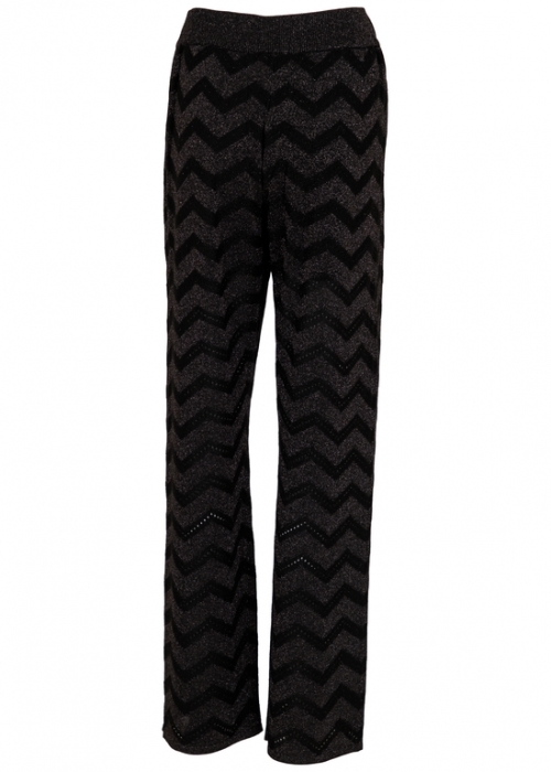 Ruby knit pants BLACK