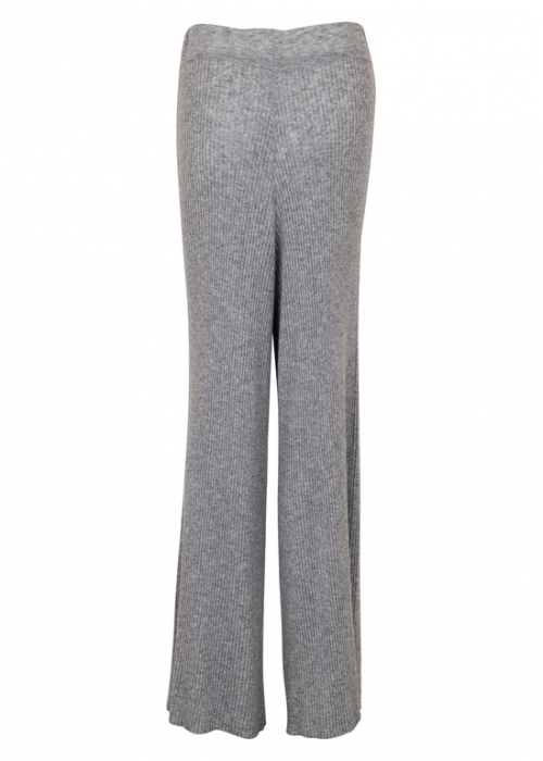 Aubrey knit pants LIGHT GREY MELANGE