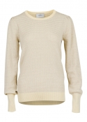 Kelly Knit Blouse LIGHT YELLOW