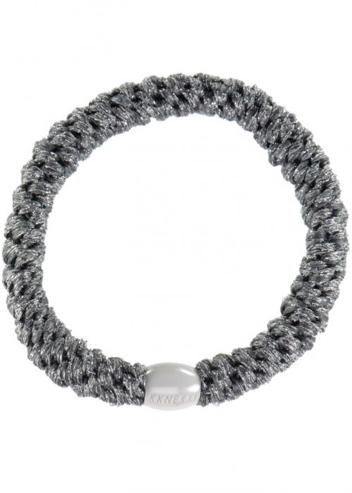 Kknekki elastik STEEL GREY GLITTER