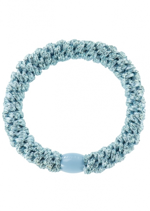 Kknekki elastik LIGHT BLUE GLITTER
