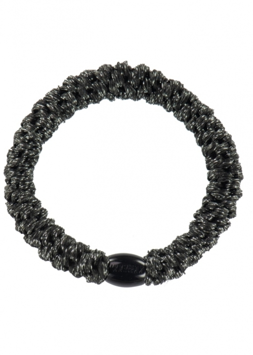 Kknekki elastik BLACK GLITTER