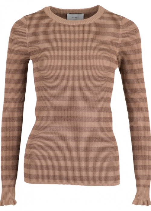 Nelle mix knit CAMEL