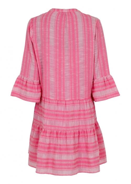 Gunvor stitch dress LIGHT PINK