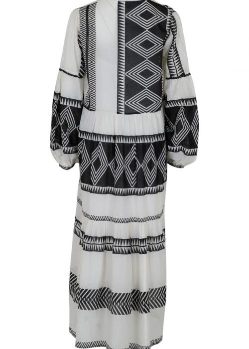 Miles big aztec dress BLACK