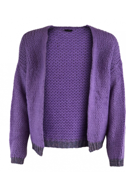 Nanna Cardigan LIGHT PURPLE