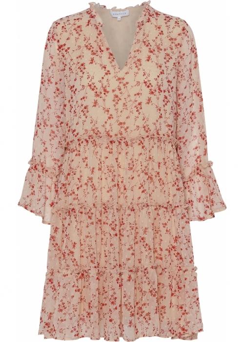 Nina flower dress SAND FLOWER