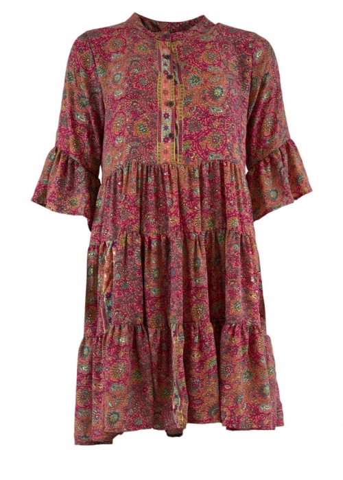 Luna boho dress PINKY GOLD