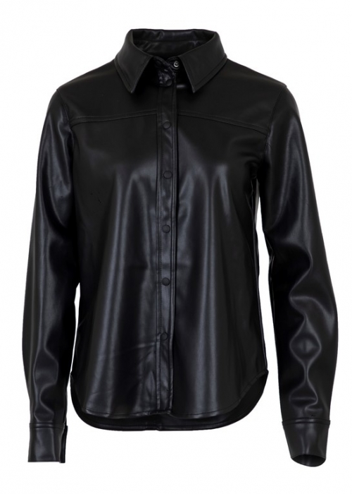 Cana faux shirt BLACK