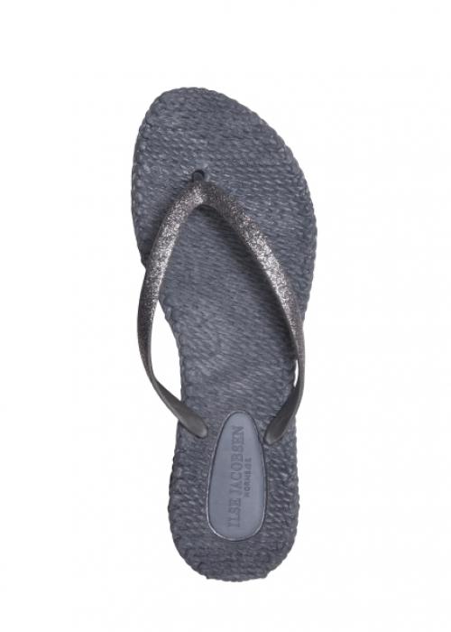 Flip flops med glitter GREY