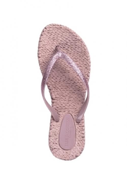 Flip flops med glitter MISTY ROSE