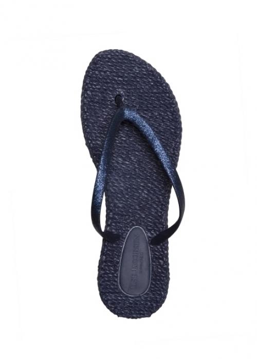 Flip flops med glitter INDIGO