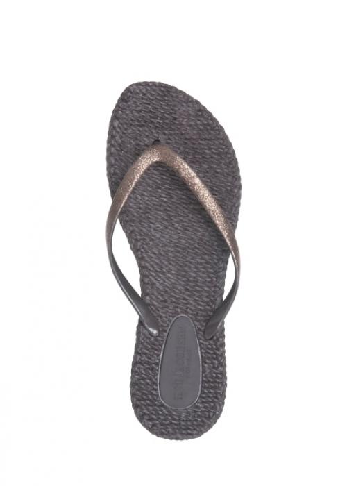 Flip flops med glitter PRUNE