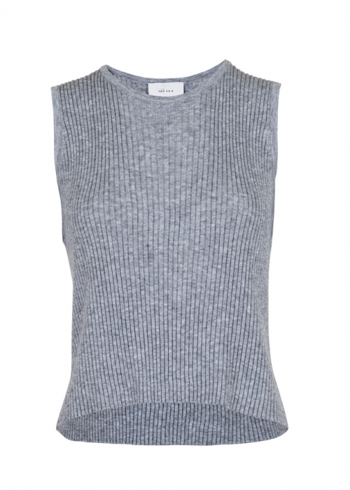 Vulcano knit vest GREY MELANGE