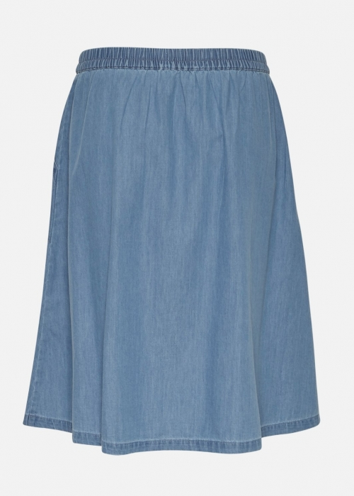 Chea Lyanna short skirt MID BLUE WASH
