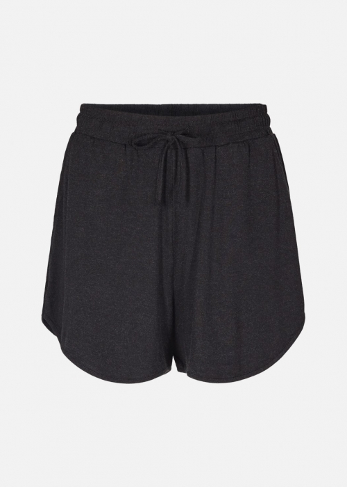Annie wool touch shorts DARK GREY MELANGE